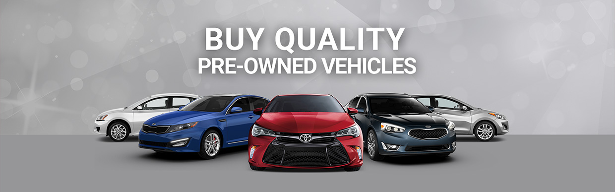 Buy Quality Pre-Owned Vehicles